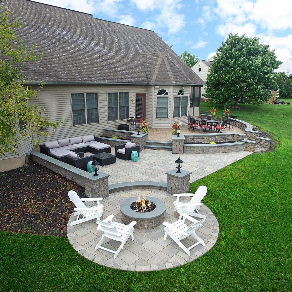 custom techo bloc patio lancaster pa