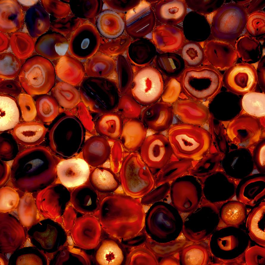 Red Agate (Backlit)