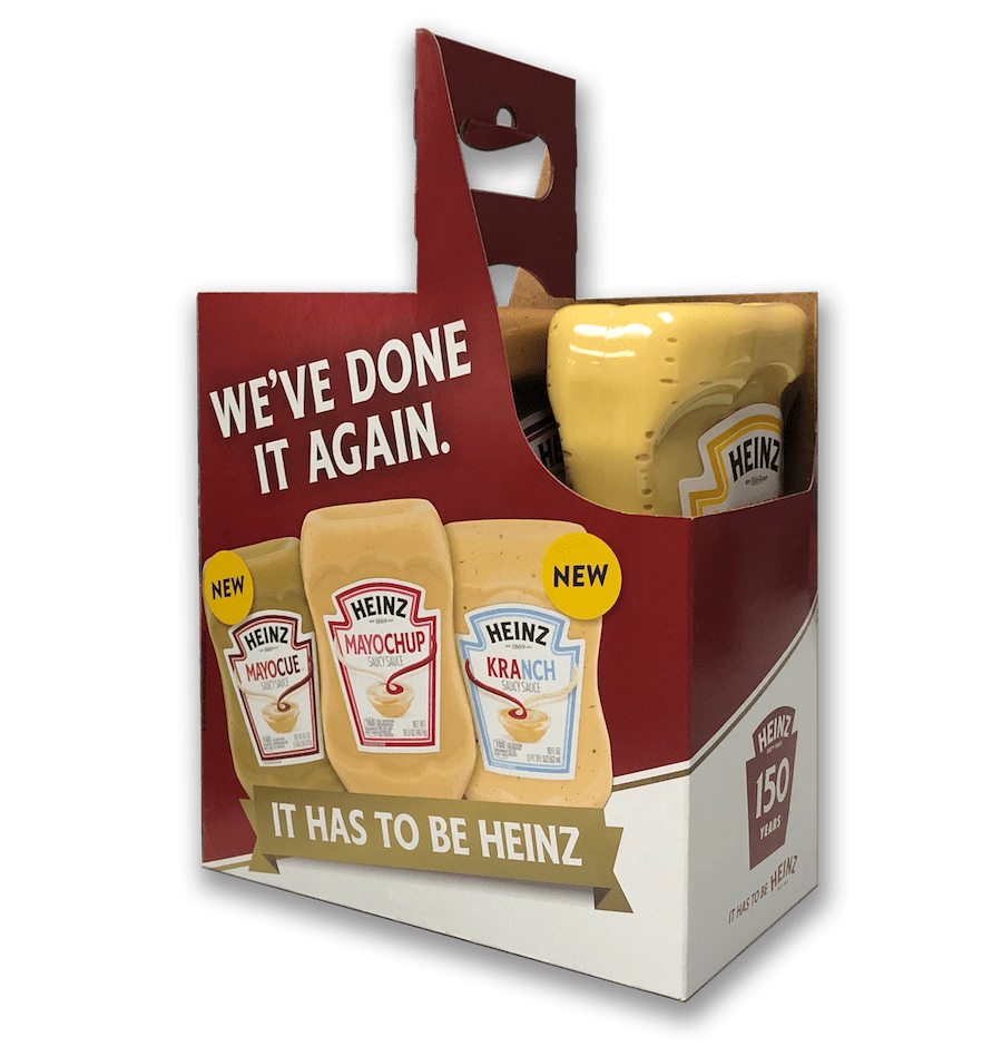 Keystone created packing specific to Heinz's needs