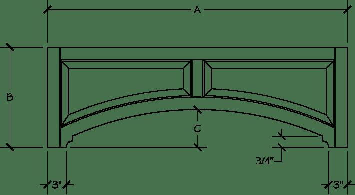 keystone arch diagram solar panel wiring australia panels wood specialties kav 55