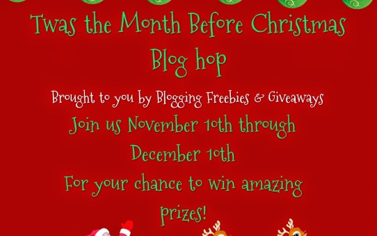 Twas The Month Before Christmas ~ Hoppy