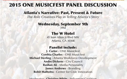 {PANEL DISCUSSION} Who Is Telling Atlanta's Story?