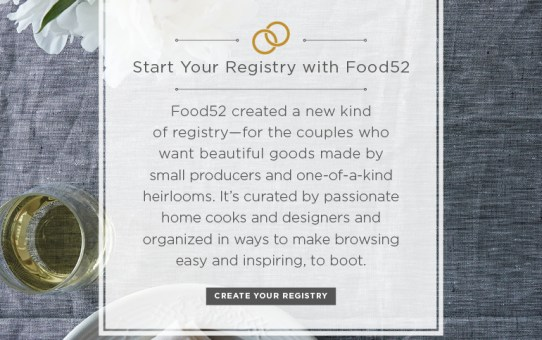 {WEDDING WEDNESDAY} ~ Food52.com Has A Wedding Registry