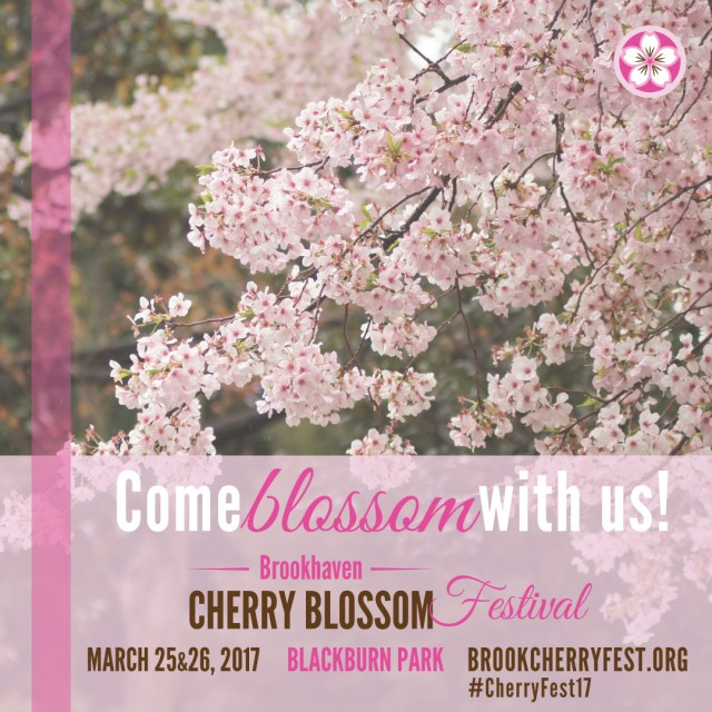 Brookhaven Does It Again With The Cherry Blossom Festival!