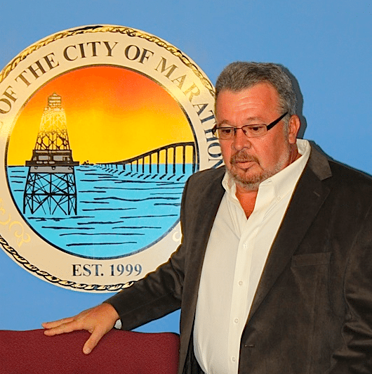 A man holding a sign - Entrepreneurship