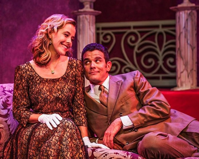 Devers just wrapped her role as Meg in the Waterfront Playhouse production of 'Leading Ladies.'