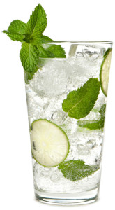 Mojito. Pronounced mo-heat-oh. Clearly this drink was made for summer.