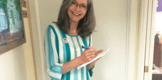 #Property: According to local expert Patti Nickless - A woman in a striped shirt - T-shirt