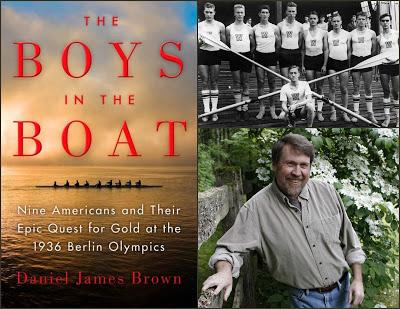 #SummerReading: The Boys in the Boat - A man standing in front of a store - The Boys in the Boat: Nine Americans and Their Epic Quest for Gold at the 1936 Berlin Olympics