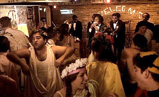 #Events: Save the date! - A group of people standing in front of a crowd - John Belushi