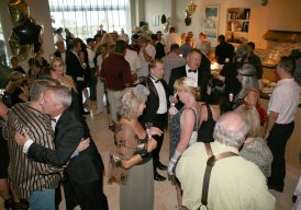 About 200 supporters attended the Business Guild's Gatsby party.
