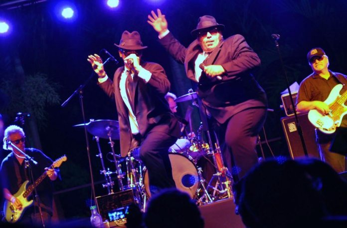 #Music: Masters play the blues - A group of people on a stage - The Blues Brothers