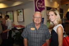Lower Keys resident Phil Goodman (R) is seeking re-election to the Monroe County Mosquito Control Board. He's pictured with Erin Muir, an aide to congressional candidate Carlos Curbelo (R). Muir is also a legislative assistant for State Representative Holly Raschein.