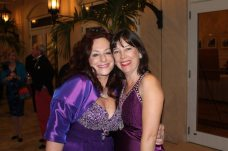 Kim Romano from Womankind is with Kristina Welburn.