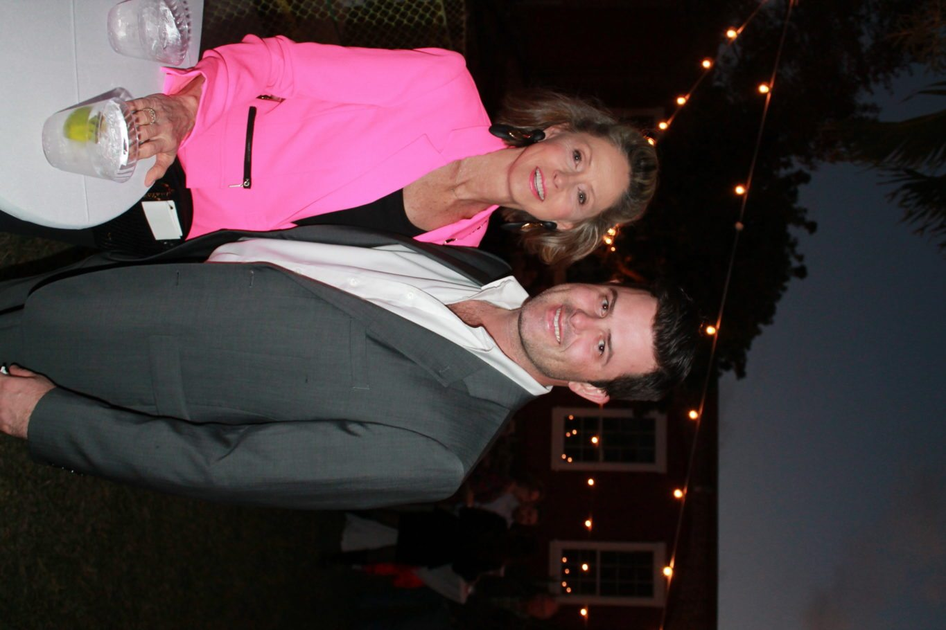 Billy Spottswood knows how to pick the perfect date … bring mom! Seen here with the beautiful Andrea Spottswood.