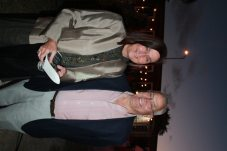 6. Robin Lockwood and Phyllis Stout show their support for Montessori Children's.