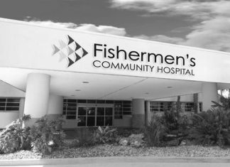 Fishermen's awarded four stars - A sign in front of a building - Fishermen's Community Hospital