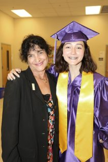 Sharon Rodriguez will be attending Florida State University and is seen here with her mentor, Judge Ruth Becker. Becker said Sharon is a light in her life.