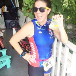 After finishing her second Olympic distance triathlon in December, Pridemore says she is ready to tackle space.