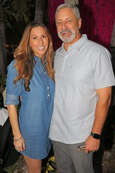 Jenny and Louis Spelios, owners of Island Dental, underwrite the Champion of Hope award, which will be presented to local cancer fighter Frankie Gutierrez at the American Cancer Society's Diamond Gala.