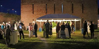 The gala fundraiser takes place on the East Martello grounds.