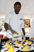 Dwane from Bistro 245 at The Westin Resort hands over Korean BBQ Short Ribs