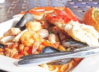 Havana Jacks is hot, hot, hot - A plate of food with a fork - Portuguese cuisine