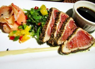 Join the club (or at least visit) - A plate of food - Tataki