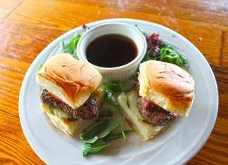 APPETIZING: Tarpon Creek introduces new happy hour pricing - A plate with a sandwich and a cup of coffee - Slider