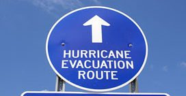 No hurricane shelters will open in Florida Keys - A close up of a sign - Traffic sign
