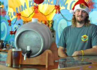 Irma Brew at Florida Keys Brewing Co.