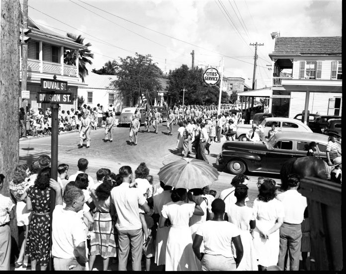 Labor Day parade, Key West 1948