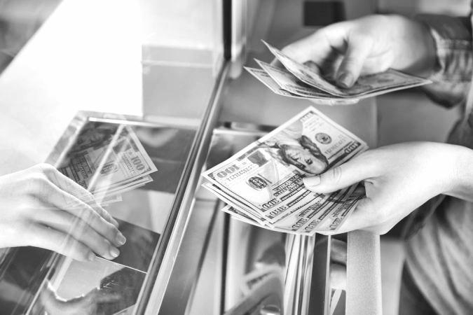 cash at BOA