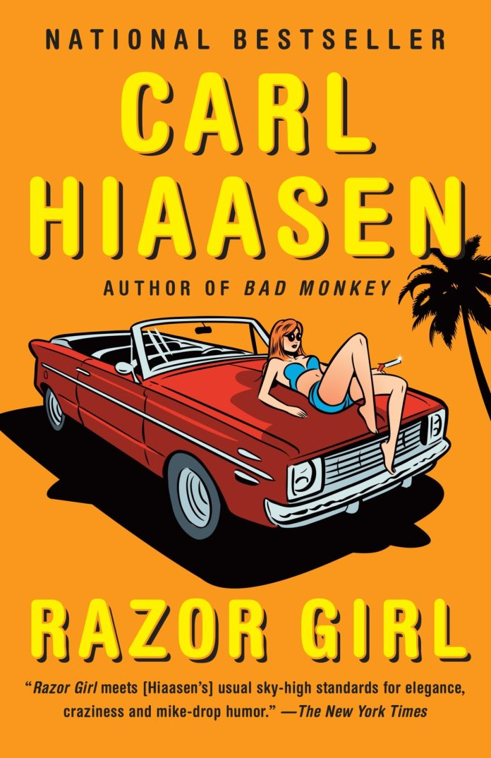Hiaasen in Key West