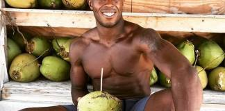 30 minutes to a better you –Dante Harper opens Flex Key West - A man sitting at a fruit stand - D.W. Harper