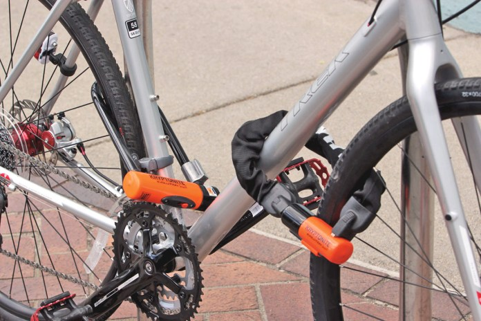 Top 10 ways you know you might be OCD in Key West - A bicycle parked in a parking lot - Bicycle chain