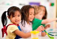Calling all 4-year-olds – Enrollment open for Keys pre-kindergarten - A little girl sitting at a table - Kids Learning Path