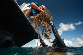 - Derke Snodgrass passes up his haul to Capt. Nate, good to see this kind of stuff off the reef.