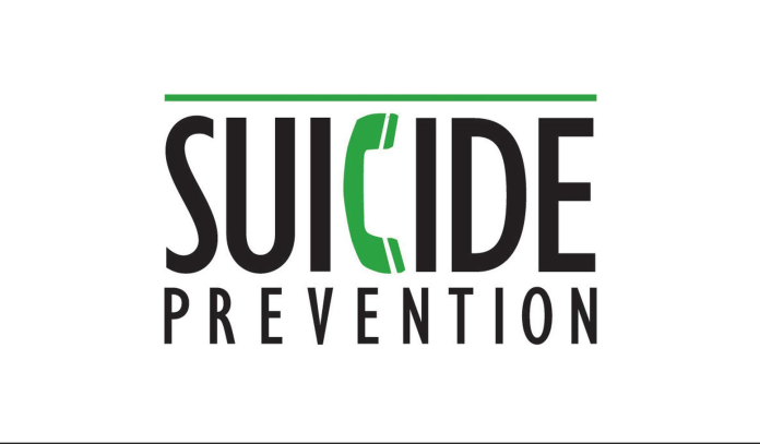 Are you suicidal? – Simple question could save a life - A drawing of a face - Logo