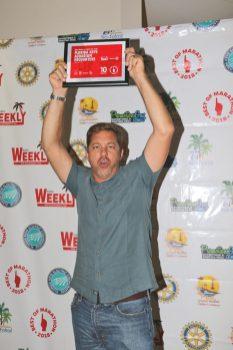 Marathon celebrates its best - Ben Daughtry holding a sign - T-shirt