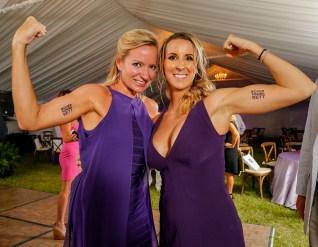Purple Pumpkin Gala - Holly Merrill Raschein et al. posing for the camera - Holly Merrill Raschein
