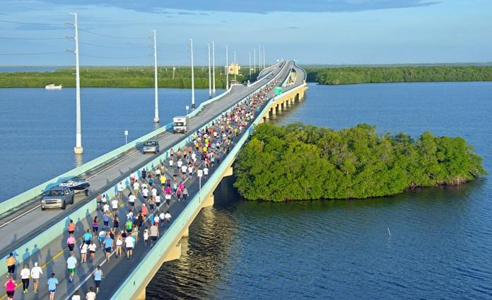 Scenic Key Largo Bridge Run set for Nov. 10 - A bridge over a body of water - Jewfish Creek Bridge