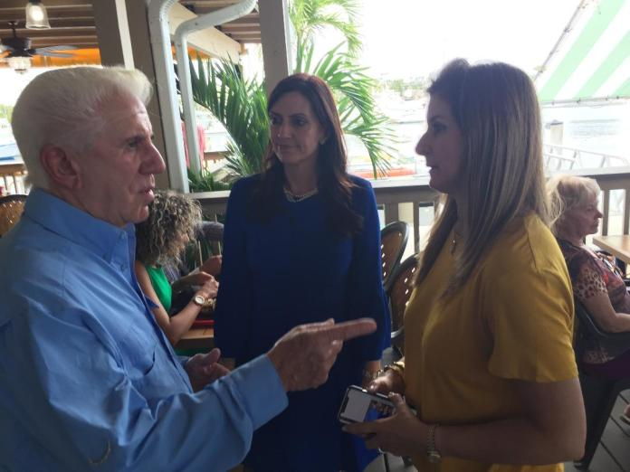 Jeanette Nuñez Eyes Historic Moment for Lt. Governor Seat - A group of people holding wine glasses - Jeanette Núñez