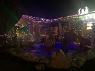 2400 Seidenberg, with peace signs and colorful lights, is a perfect homage to a Keys Christmas.
