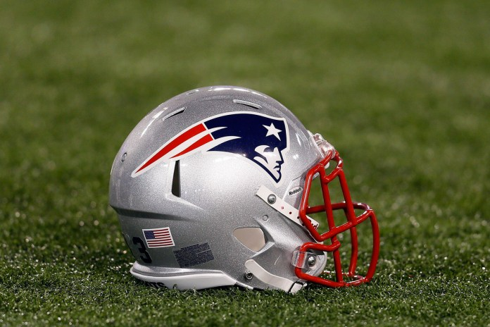 Top 10 Signs You Are Pulling For the Patriots in the Super Bowl - A close up of a football field - New England Patriots