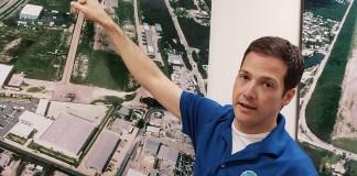 A man in a blue shirt - Florida Keys/Marathon International Airport
