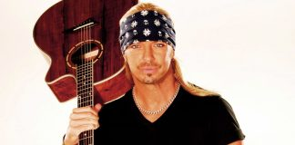 "Bret Michaels ""Taking it to Another Level"" for Upcoming Key West Show - Bret Michaels holding a guitar - Bret Michaels"