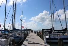 The Florida Sea Base dock where several sailboats sit. JIM McCARTHY/Keys Weekly