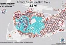 What FEMA floodplain maps mean for the Keys - A close up of a map - Key West