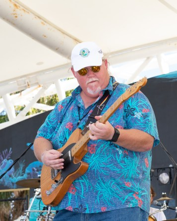John Bartus organizes the entertainment and performs.